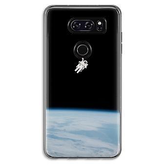 LG V30 Transparent fodral (Soft) - ensam i rymden