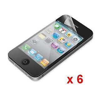 Apple の iPhone の 4 G/4S のスクリーン プロテクター (6 パック)