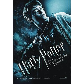 Harry Potter and the half-blood Prince Harry with wand