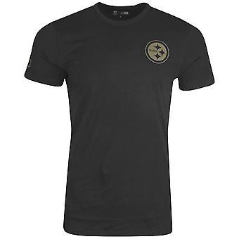 新しい時代の迷彩柄のシャツ - NFL ピッツバーグ スティーラーズ ブラック