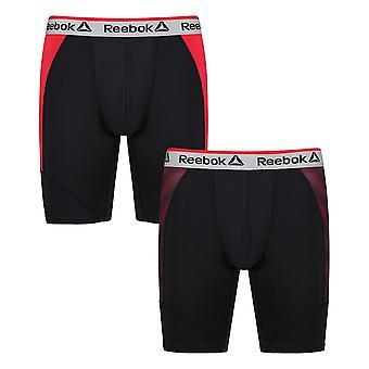Reebok Gym Men's Performance Underwear Sports Long Boxer Trunks Leon