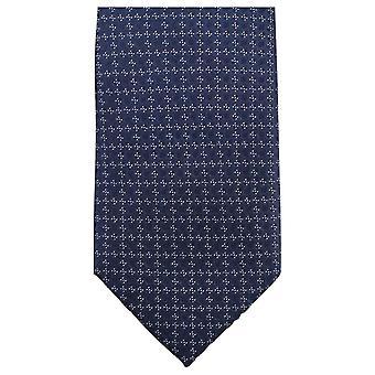 Knightsbridge Neckwear Small Floral Tie - Navy