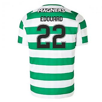 2018-2019 Celtic Home Football Shirt (Edouard 22) - Kids