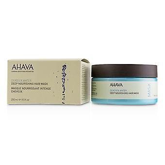 AHAVA Deadsea vand dybe nærende hårmaske - 250ml/8,5 ounce