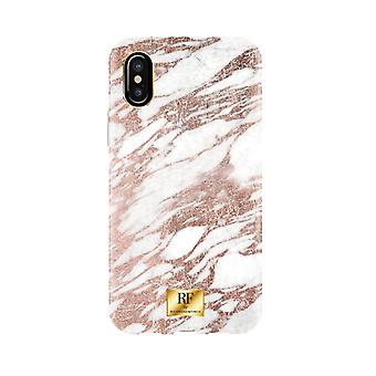 RF by Richmond & Finch covers for IPhone X/XS-Rose Gold Marble