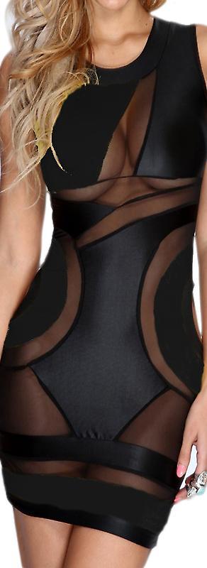 Waooh - Sexy Kleid Spitze Tan