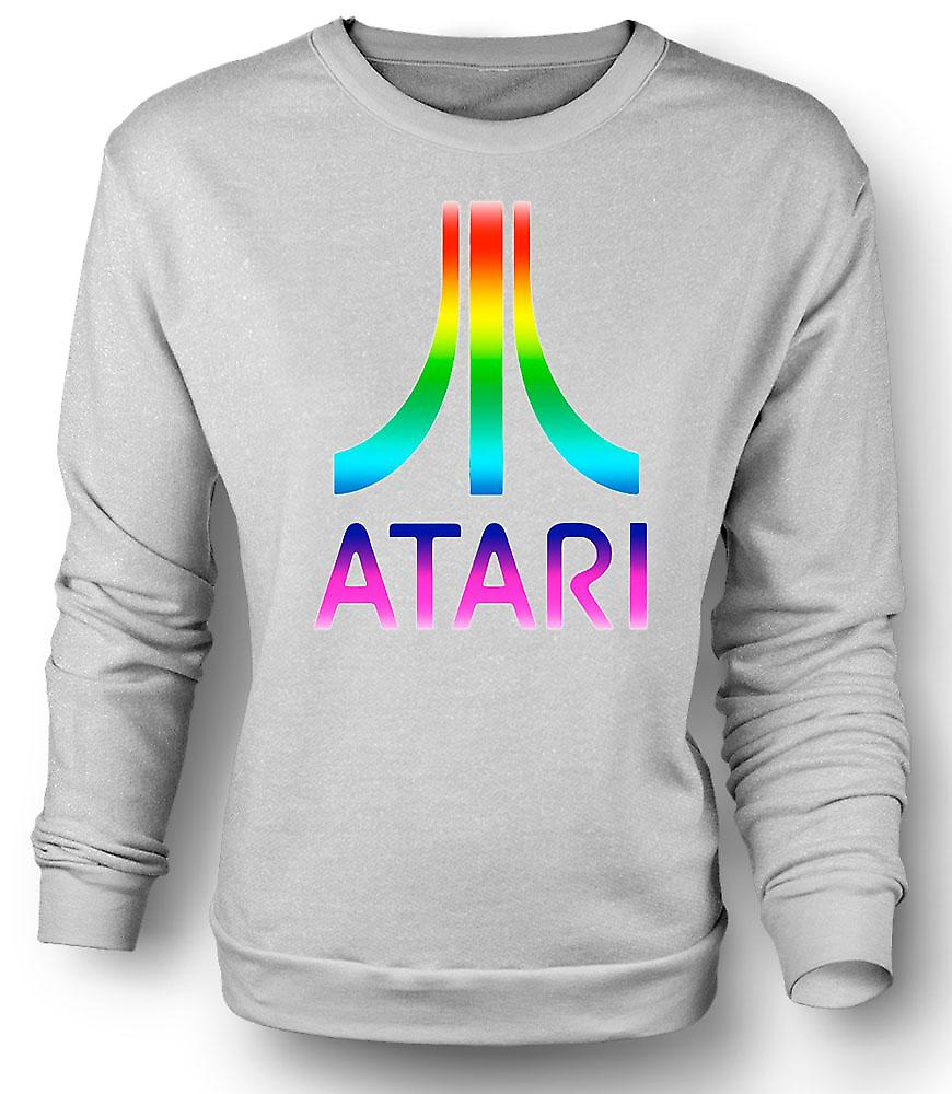 Mens Sweatshirt Atari Gaming Retro Funny