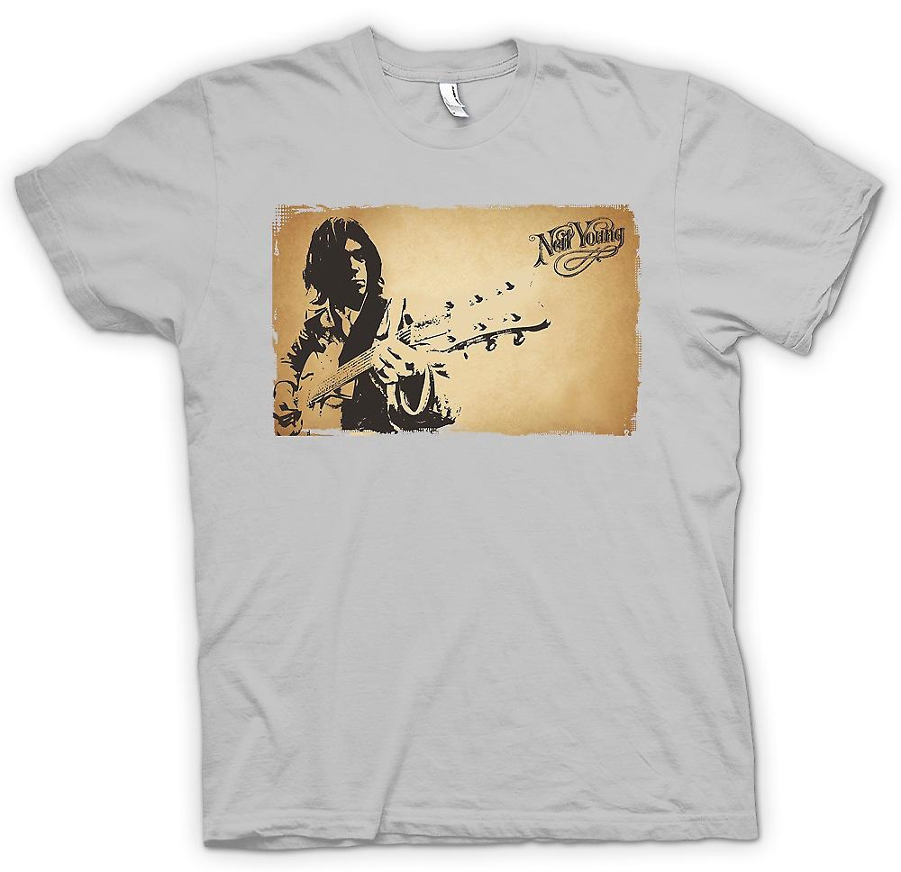 Mens T-shirt - Neil Young - Rock-Legende