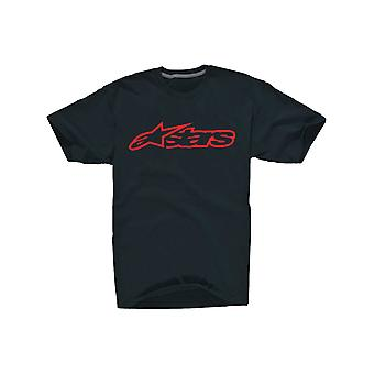 Alpinestars Black-Red Blaze Kids T-Shirt