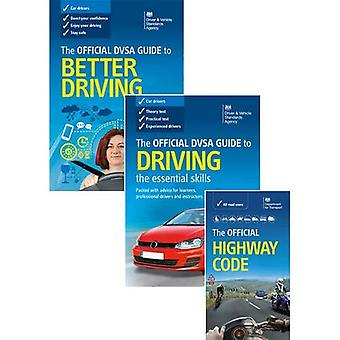 The official DVSA guide to better driving; the Official DVSA guide to driving - the essential skills; and the...