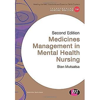 Gestión de los medicamentos en la enfermería de Salud Mental