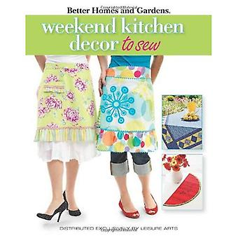 Weekend Kitchen Projects to Sew (Better Homes and Gardens)