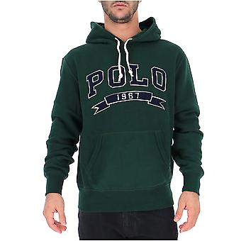 Ralph Lauren Green Cotton Sweatshirt