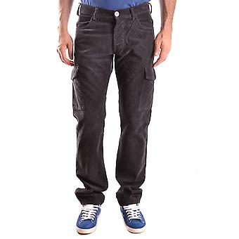Armani Jeans Brown Cotton Pants