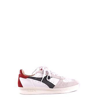 Diadora White Suede Sneakers