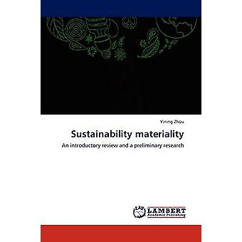 Sustainability Materiality by Zhou & Yining