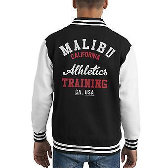 Malibu Athletics Training Kid's Varsity Jacket