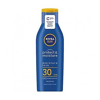 F30 humide Lotion Nivea [Sun] 200Ml