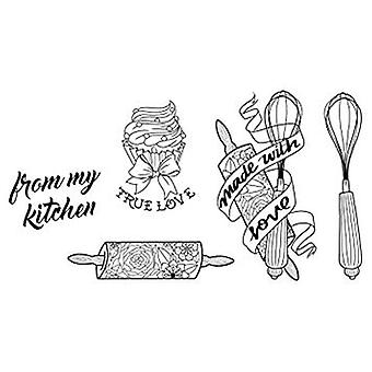 Spellbinders Kitchen Collection Stamp & Die Set (SDS-074)