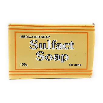 Royal Sanderson Sulfact Soap Medicated Soap - 10% Sulphur - for Acne 100g
