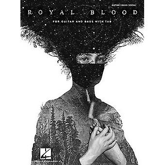 Royal Blood - For Guitar and Bass with Tab - 9781495047589 Book