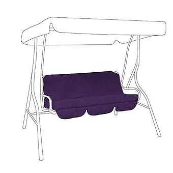 Gardenista® Purple Replacement Canopy for 3 Seater Swing Seat