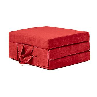 Single 2ft Foldable Guest Mattress - Red