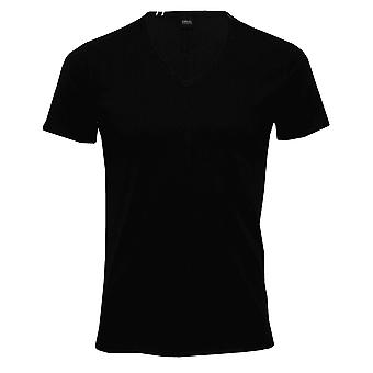 Replay Luxe V-Neck T-Shirt, Black