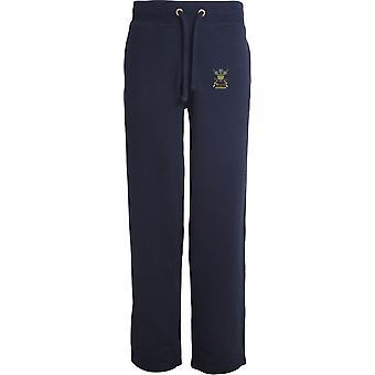 3rd Carabiniers Veteran - Licensed British Army Embroidered Open Hem Sweatpants / Jogging Bottoms