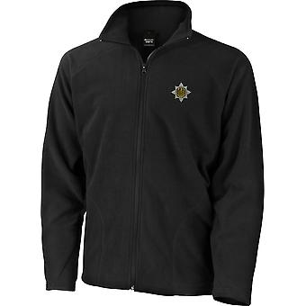Royal Dragoon Guards-licenseret British Army broderet letvægts Micro fleece jakke