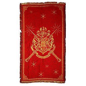 Harry Potter Hogwarts Logo Throw Rug (92x147cm)