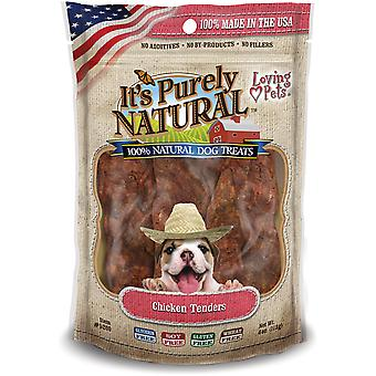 It's Purely Natural Treats 4oz-Chicken Tenders LP5200