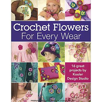 Leisure Arts Crochet Flowers For Every Wear La 4013