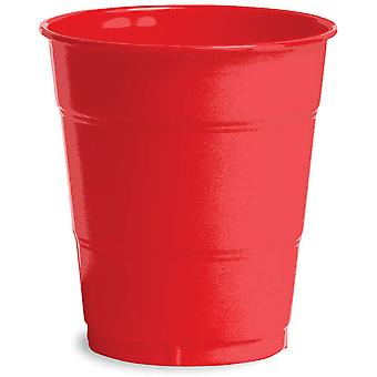 Premium Plastic Cups 12 Ounces 20 Pkg Classic Red Pc 1031