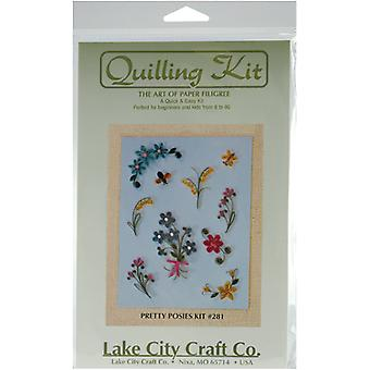 Quilling Kit Pretty Posies Q281