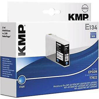 KMP Ink replaced Epson T7022 Compatible Cyan 1620,4003