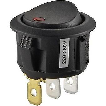 Toggle switch 250 Vac 10 A 1 x Off/On SCI R13-208B