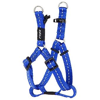 Rogz For Dogs Nitelife Step-in H Blauw 11 Mmx27-38 Cm