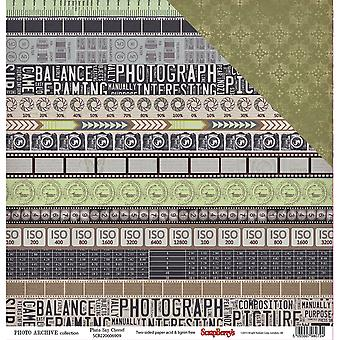 ScrapBerry's Photo Archive Double-Sided Cardstock 12