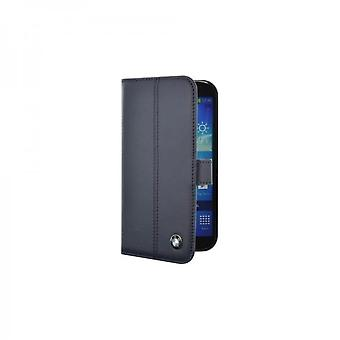 BMW Flip Book Leather Case Cover for Samsung i9500 Galaxy S4 Black