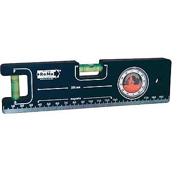 Mini spirit level 20 cm RONA 450710 Calibrated to: Manufacturer standards