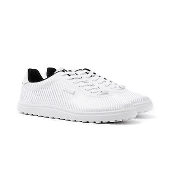 Cruyff Asteroid White Woven Trainers