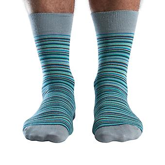 Chocolate Mint men's super-soft bamboo crew sock | By Doris & Dude