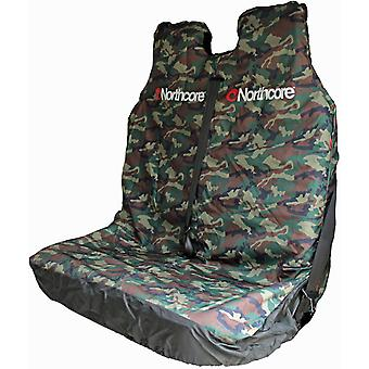 Camo Double Car Car Seat Cover