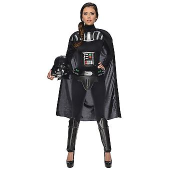 Weibliche Darth Vader Star Wars Frauen Kostüm