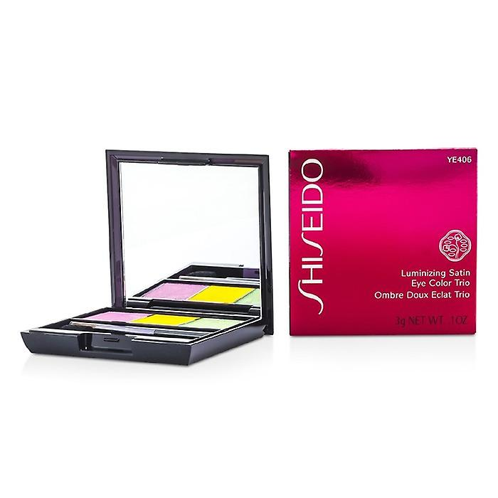 Shiseido Luminizing Satin Eye Color Trio - # YE406 Tropicalia 3g / 0,1 oz