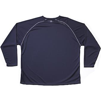 Cliff Keen MXS Loose Gear Long Sleeve Technical Shirt - Navy