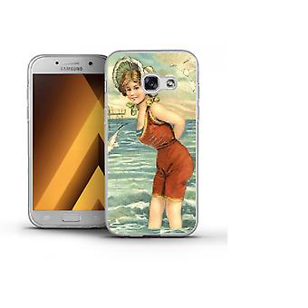 Capa Women at the beach para Galaxy A3 (2017)