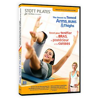 Secret to Toned Arms Buns & Thighs (Eng/Fre) [DVD] USA import