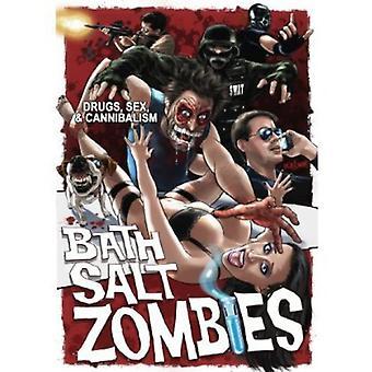 Bad Salt zombier [DVD] USA importerer